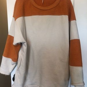 Oversized Free People Sweatshirt